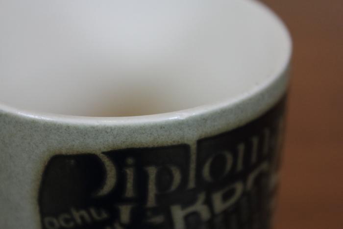 ホーンジー HORNSEA マグカップ ゾウ ジャングル ニュースプリント