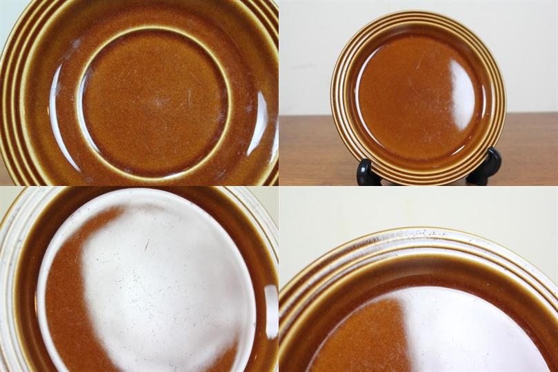ホーンジー HORNSEA ヘアルーム トリオ カップ&ソーサー&プレート HEIRLOOM オータムブラウン