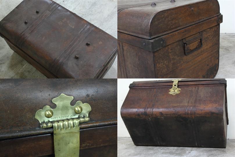 イギリス アンティーク バンカーズボックス トランク コーヒーテーブル