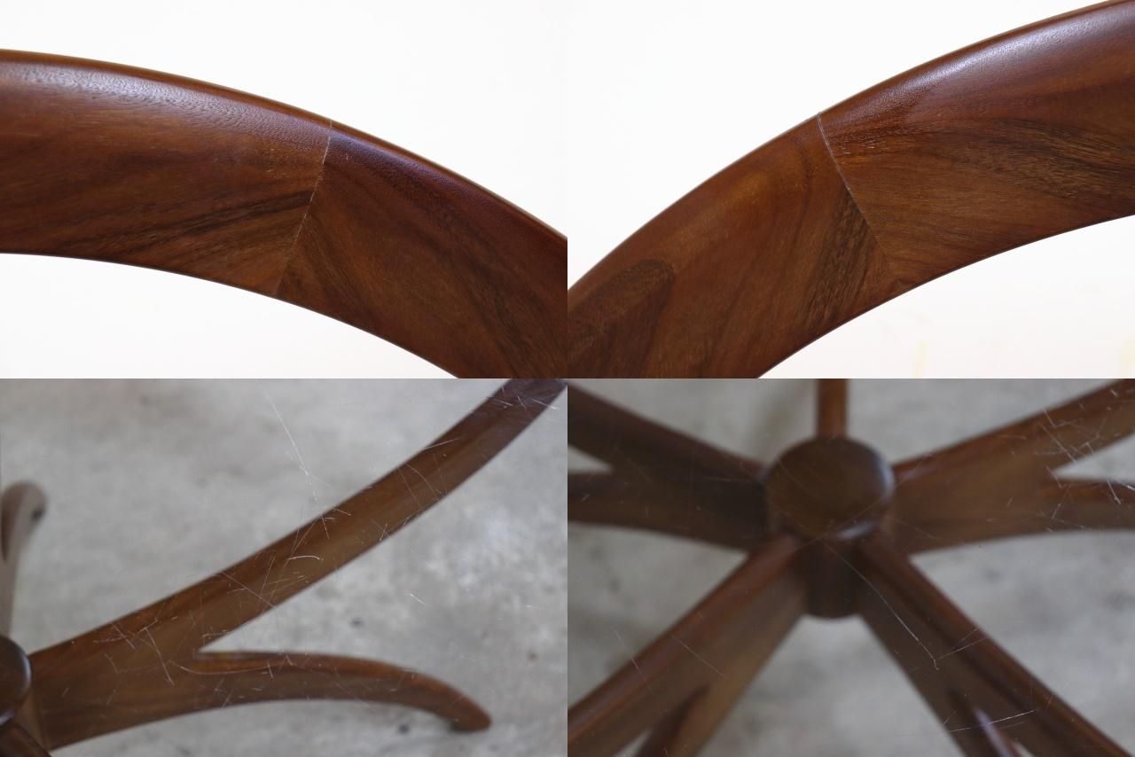 G-PLAN ジープラン スパイダーテーブル ガラストップ
