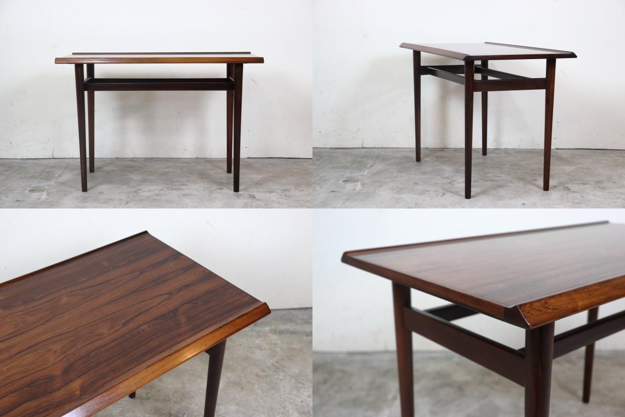 アルネ・ヴォッダー コーヒーテーブル サイドテーブル ローズウッド 北欧 デンマーク