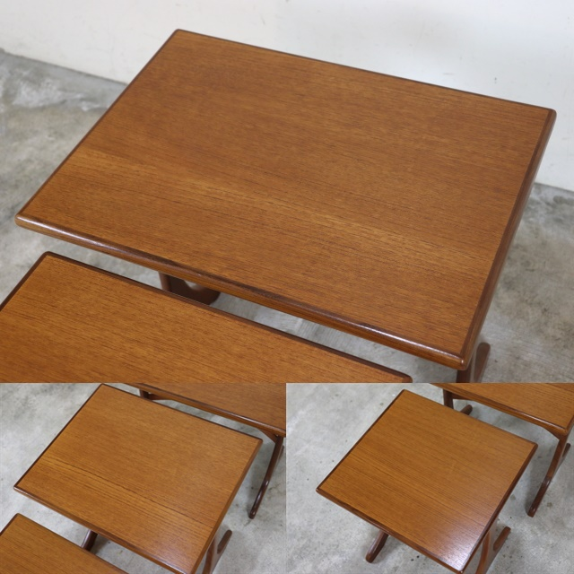 G-PLAN ジープラン ネストテーブル チーク